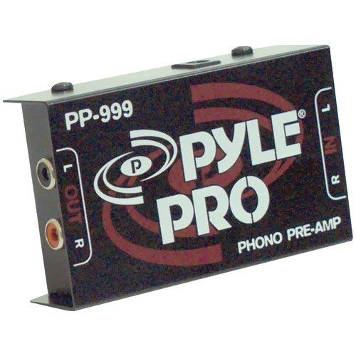 Pyle Pro Pp999 Phono Turntable Preamp