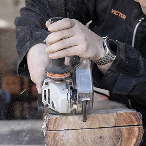 ARBORTECH Industrial Woodcarver | Ø 100 mm Hartmetall Frässcheibe für Winkelschleifer zur Holzbearbeitung - 3