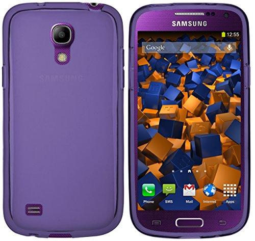 mumbi Hülle kompatibel mit Samsung Galaxy S4 Mini Handy Case Handyhülle, lila