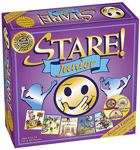 Image of the Stare Junior Board Game For Kids - 2nd Edition for Ages 6-12