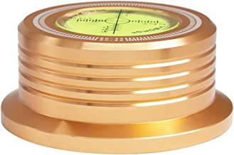 Viborg LP628G 60HZ 3 in 1 Record Clamp LP Disc Stabilizer Turntable Gold for Vibration Balanced