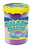 CRAZE Galaxy Magic 40g Schaumartige Knetmasse in Dose Knete mit Schmelzeffekt Galaxienstaub 24461, bunt