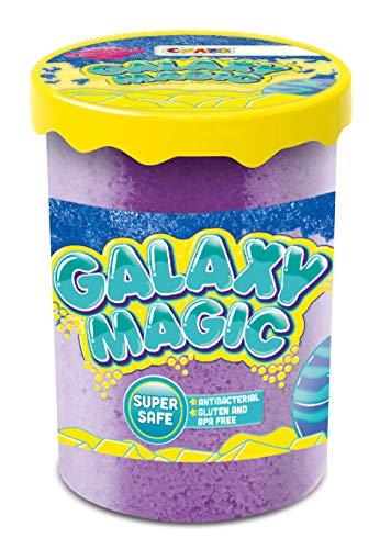 CRAZE GALAXY MAGIC 40g Weiche Kinderknete in Dose Knete mit Schmelzeffekt Schmilzknete 24461