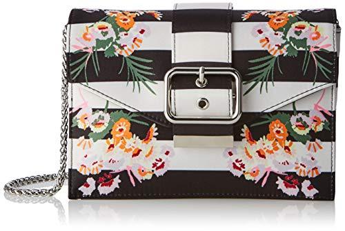 KAREN MILLEN Fashions Limited Womens Clutch, Multi kleuren (veelkleurig), 7.5x13x19.5 cm (B x H x L) UK