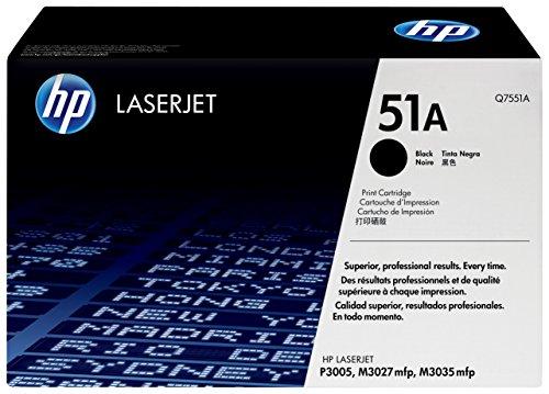 HP 51A (Q7551A) Schwarz Original Toner für HP Laserjet P3005, M3027, M3035