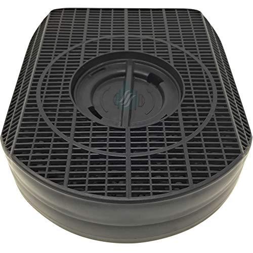 Solution Ahead - 1 Filtre Anti-Odeur au Charbon Actif pour hotte - Type 200 - D200 - CHF200/1 - DKF42 - NYTTIG Fil 554 - AMC895