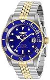 Invicta 29182 Pro Diver Reloj para Hombre acero inoxidable Automático Esfera azul