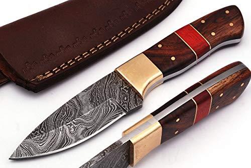 SharpWorld Wood Handle Damascus Kni…