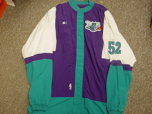 Chucky Brown Charlotte Hornets Game Worn Jacket