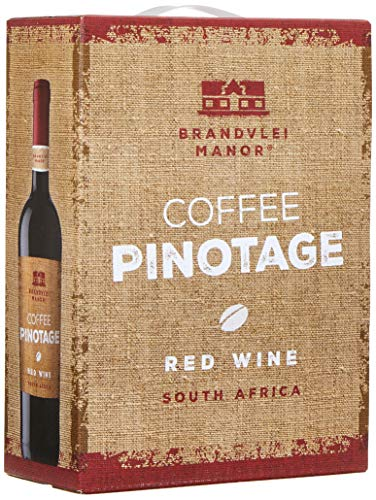 Brandvlei Manor Coffee Pinotage W.O. Western Cape Bag-in-Box (1 x 3 l)