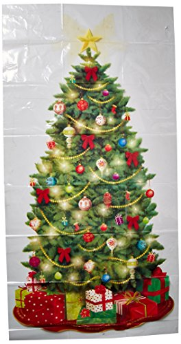 Amscan 670228 Classic Christmas Tree Scene Setters Add-Ons Accessory | Plastic