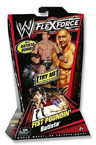 WWE Flexforce Flist Poundin' Coup de Poing Batista