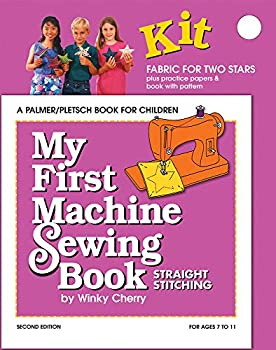 My First Machine Sewing Book KIT  Straight Stitching  My First Sewing Book Kit series
