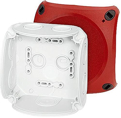 Preisvergleich Produktbild Hensel Kabelabzweigkasten DK 0400 R bis 4qmm ENYCASE Dose,  Gehäuse für Montage auf der Wand / Decke 4012591125280