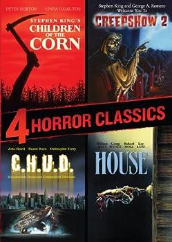 4 Horror Classics  Children of the Corn / Creepshow 2 / House / C.H.U.D