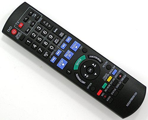 Ersatz Fernbedienung für Panasonic N2QAYB000124 DVD Recorder Remote Control / Neu