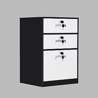 Classeurs WHLONG Documents désassemblage Bureau Armoire de Rangement Accueil Étude métal avec casier de Stockage Protectio...