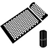 Tapis d'acupuncture, Kit d'Acupression Tapis,Yoga Tapis de Massage,Tapis d'acupression et d'Acupression Oreiller, Kit d'acupuncture détend et relâche efficacement la tension