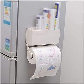 aipipl Accueil-Organisateur de Rangement Cuisine Rangement magnétique réfrigérateur Rack paroi latérale étagère Organisate...