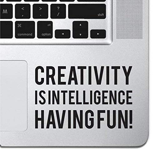 Creativity Inspirational Macbook Sticker Decal MacBook Pro Decal Air 13' 15' 17' Keyboard Mousepad Trackpad Laptop Inspirational Sticker iPad Sticker Religious Sticker Macbook Keyboard Decal