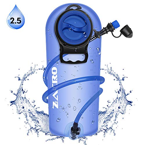 Zacro TPU Bolsa de Hidratación 2.5L, Mochila Hidratación P