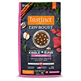 Instinct Raw Boost Small Breed Grain Free Recipe with Real Beef Natural Dry Dog Food by Nature's...