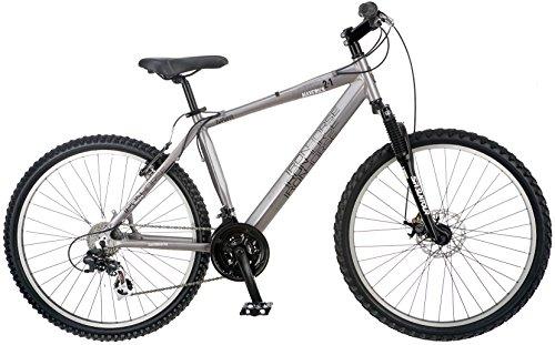 Iron Horse IH7004 Men's Maverick 2.1 Bicycle (26-Inch Wheels), 18-Inch/Medium, Grey