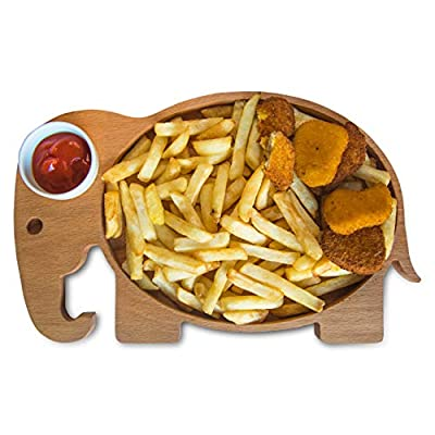 The Mammoth Design Shaped Platters with Saucer