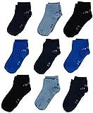 s.Oliver Socks Jungen Sneakersocken S21010, 9er Pack, Blau (blue 30), 23-26 (Herstellergröße: 23/26)