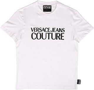 Jeans Couture Men t-Shirt Logo Bianco