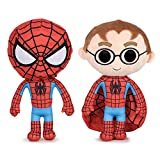 Play by Play Peluche Spiderman, 27 cm con Capucha. Marvel