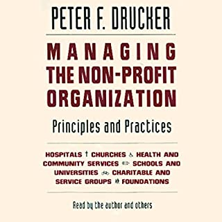 Managing the Non-Profit Organization cover art
