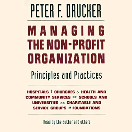 Managing the Non-Profit Organization audiobook cover art