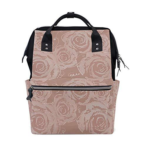FHTDH Mummy Bag Backpack Color Elephant School Bag