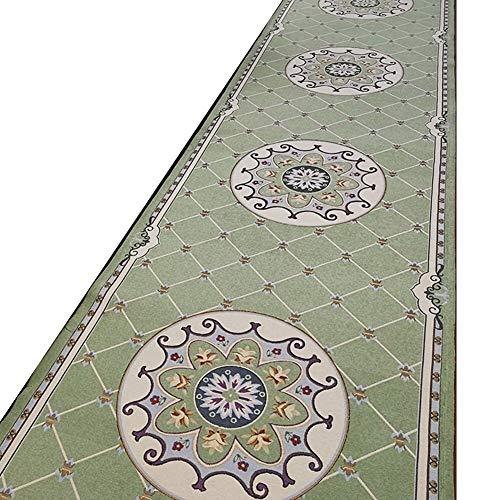 Lhl Flurläufer Teppiche Gang Salon Teppich Jacquardmuster Vlies Boden Verschleißfeste Dauerhafte Staubsauger, Dicke 8mm (Color : T1, Size : 1.2m*1m)