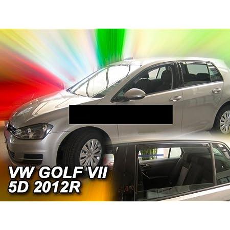 Heko Z980502 Windabweiser Regenabweiser Für Golf 7 2012 5türer Für Vorne Und Hinten Auto