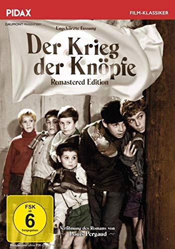 Der Krieg der Knöpfe - Remastered Edition (La guerre des boutons) / Grandiose Erstverfilmung in ungekürzter Fassung des legendären Romans von Louis Pergaud (Pidax Film-Klassiker)