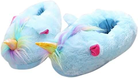 Adult Unicorn Plush Slippers