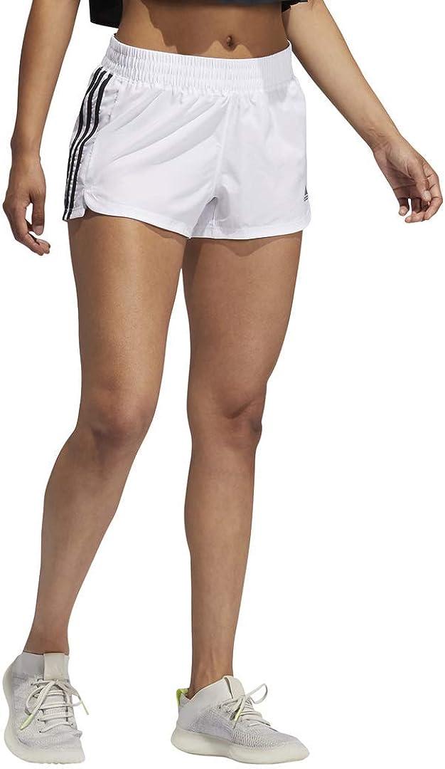 adidas Women's 営業 Pacer Shorts Woven 3-Stripes 全品最安値に挑戦