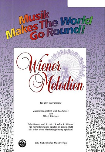 Music Makes the World go Round - Wiener Melodien 1 - Stimme 1+2 in Bb - Bb Trompete