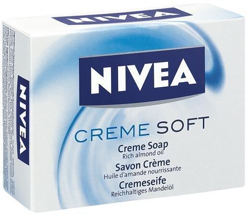 Nivea Jabón Crema Soft (6unidades, 6x 100g)