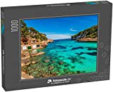 fotopuzzle.de Puzzle 1000 Teile Strand Mallorca Cala Llombards Santanyi auf Mallorca, Balearen Spanien, Mittelmeer