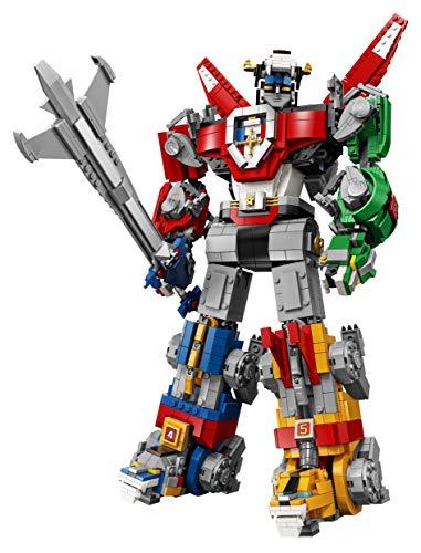 LEGO Ideas - Voltron, Set de Construcción del Legendario Defensor del Universo para Construir, Exponer y Coleccionar a Partir de 16 Años, Cuenta con 5 Leones Articulados (21311)