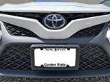 A NASA-Like Rubber Heavy Duty Front License Plate Bracket Frame Tag Holder Guard Bumper for Toyota