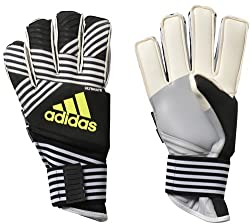 Black and White ADIDAS Ace Trans Ultimate Goalie gloves