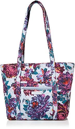 Vera Bradley Cotton Small Vera Tote Bag, Neon Blooms