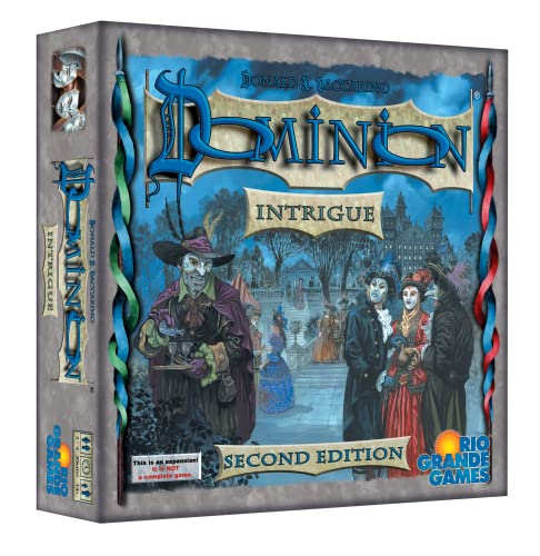 Rio Grande Games Dominion: Intrigue 2nd Edition Board Game