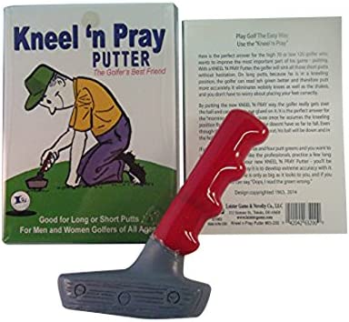 Leister's Courier shipping free Kneel Putter Cash special price Pray