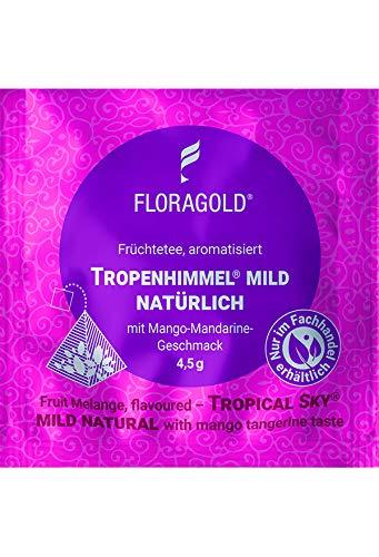 Früchtetee Tropenhimmel® mild natürlich 100er Pyramidenbeutel von Floragold