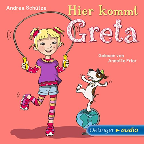 Hier kommt Greta                   Autor:                                                                                                                                 Andrea Schütze                               Sprecher:                                                                                                                                 Annette Frier                      Spieldauer: 1 Std. und 15 Min.     2 Bewertungen     Gesamt 5,0